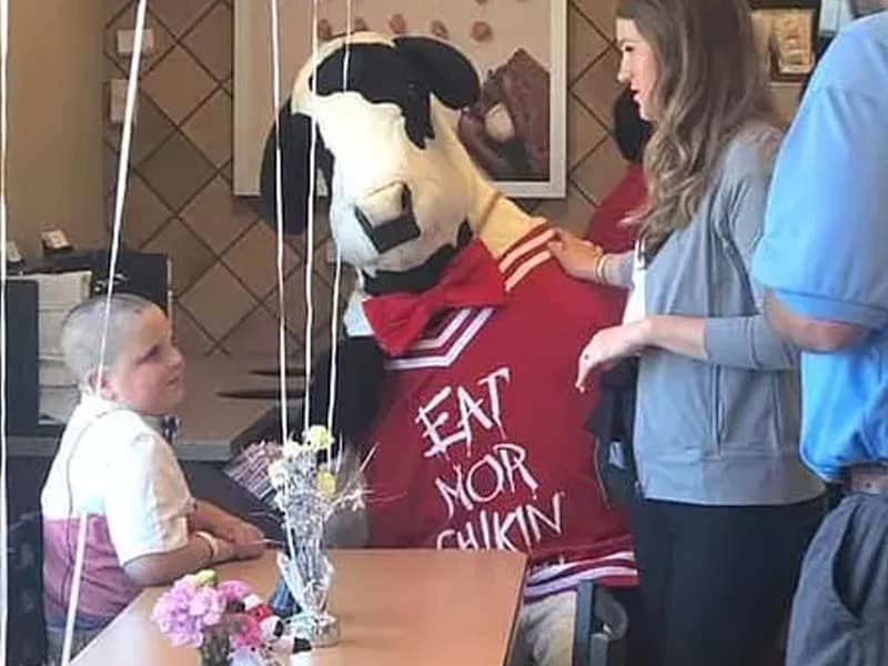 Chick-Fil-A Breaks Sunday Rule To Deliver To A Child With Brain Tumor