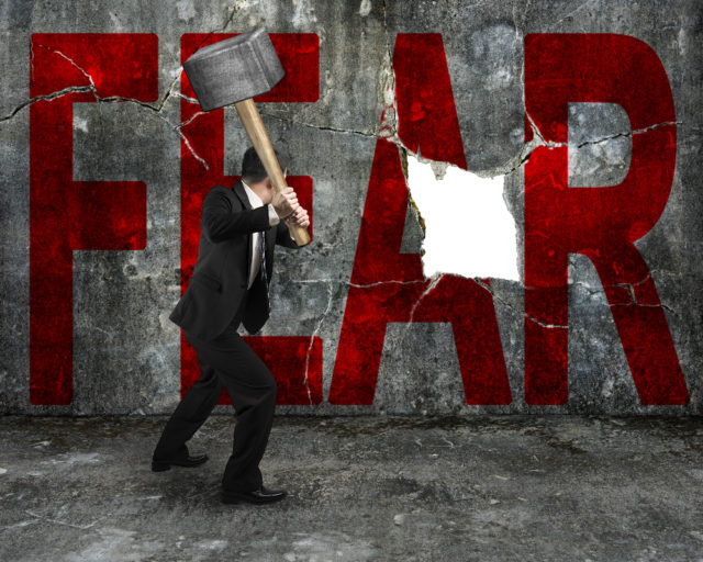 Today's Bible verse empowers us to combat fear