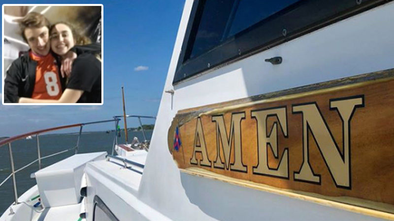Boat Called 'Amen' Saved Two Teens Stranded in The Ocean After Praying For Help