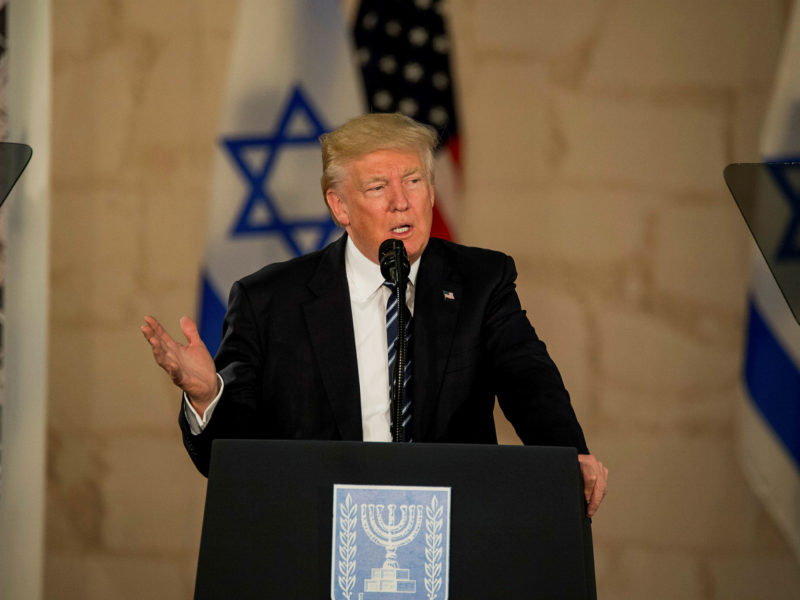 Trump Tells Israelis to 'Get Their Act Together'