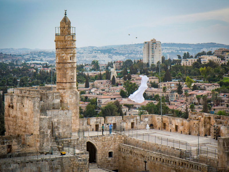 Ahead of Blind Day: Tower of David Becomes Accessible to the Visually Impaired