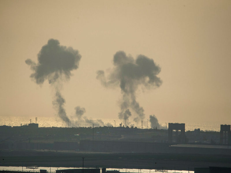 IAF Bombs Hamas Target in Response to Rocket Attack