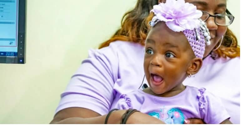 Little Deaf Girl Hears Her Mother For The First Time, Saying 'I Love You'