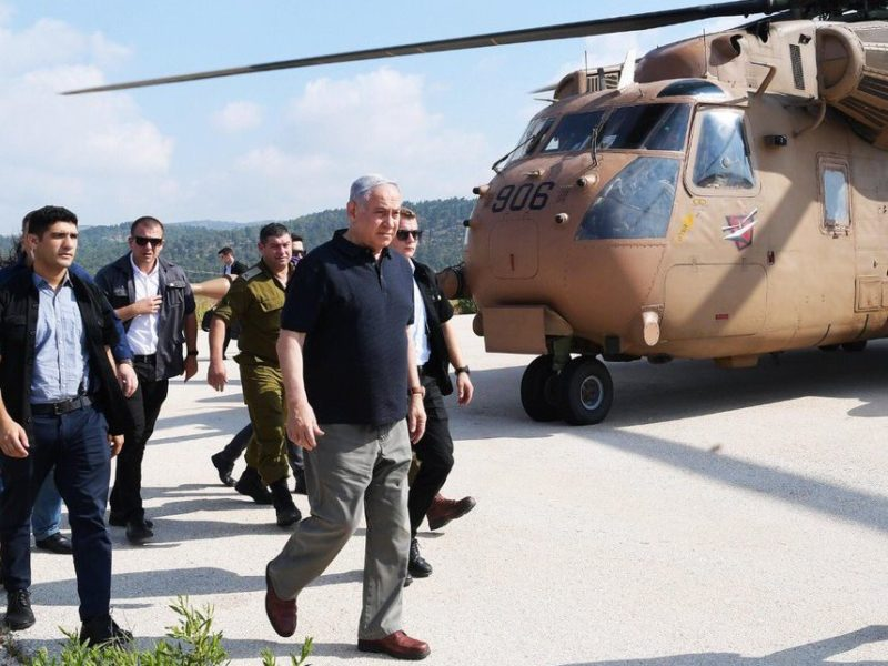 'IDF Has Very Great Destructive Power. Don't Test Us,' Netanyahu Warns