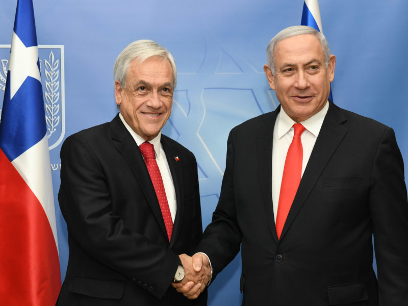 Israel and Chile Boost Ties, Sign 8 Agreements