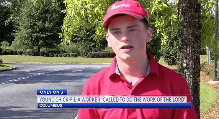 Chick-Fil-A Employee Obeyed The Voice Of God And Gave His Shoes To A Homeless Man