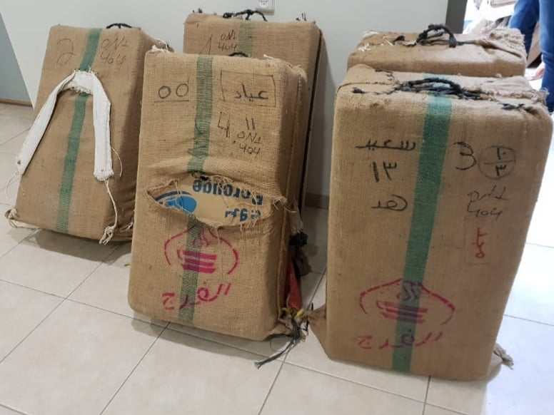 Police Bust Massive Drug Haul on Egyptian Border