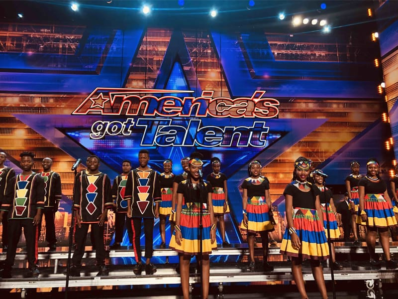 African Dream Comes True For Youth Choir From South Africa As They Get A Standing Ovation On AGT