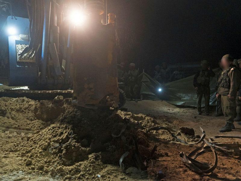 IDF Exposes 18th Gazan Terror Tunnel in 5 Years
