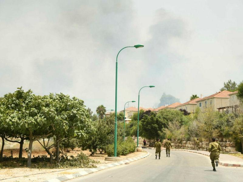 2 Injured in Mass Blazes Across Israel amid Extreme Heatwave