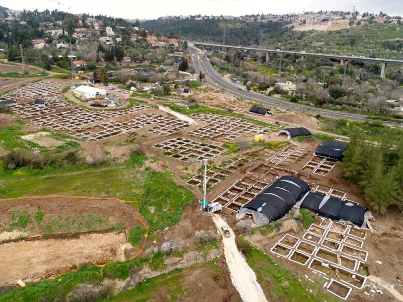 9,000-Year-Old Prehistoric Settlement, One of the Largest in the World, Exposed Near Jerusalem