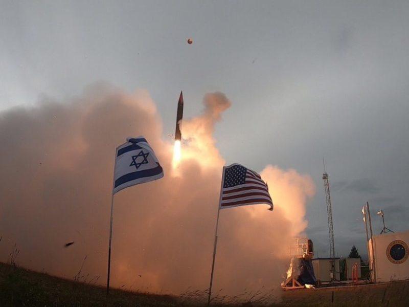 Israel, US Successfully Test Arrow 3 Missile Defense System in Alaska