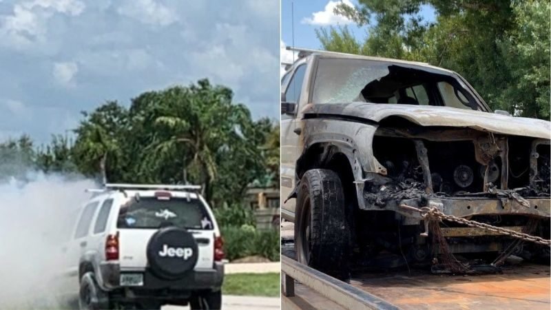 Florida Teens Witness God's Miracle and Protection During Car Fire