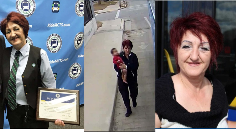 Bus Driver Rescues Lost Toddler From Freeway Overpass Receives An Award