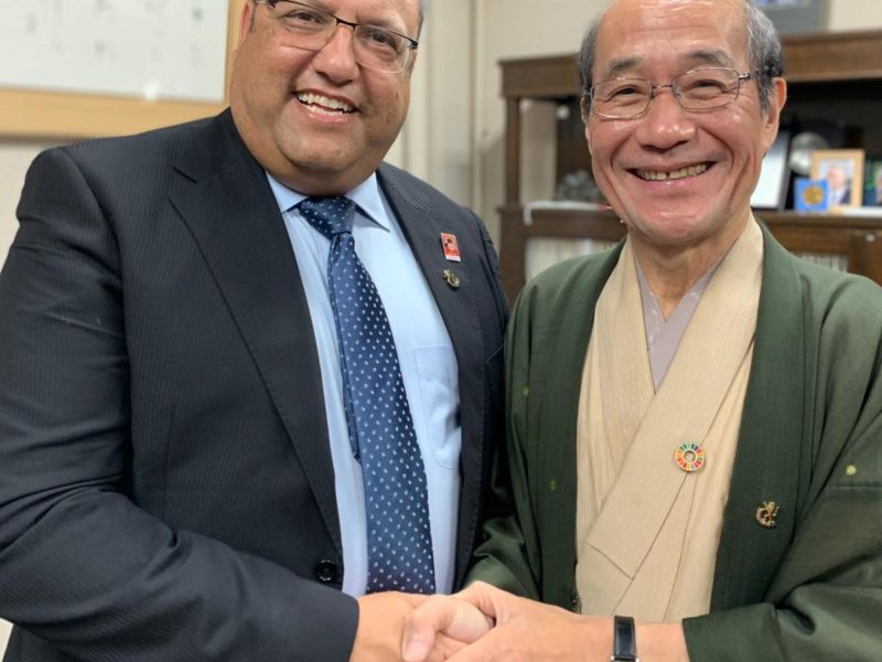 Jerusalem's Mayor in Kyoto Discusses Hi-Tech, Tourism