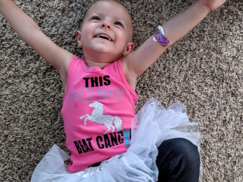 Toddler Wins Battle With Rare Type Of Cancer