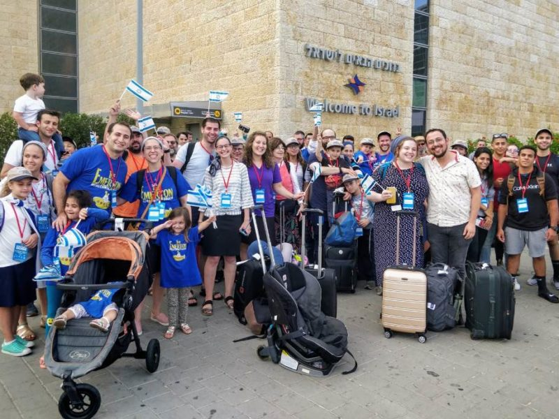 'Israel is My Home': 100 Olim from North America Arrive in Israel