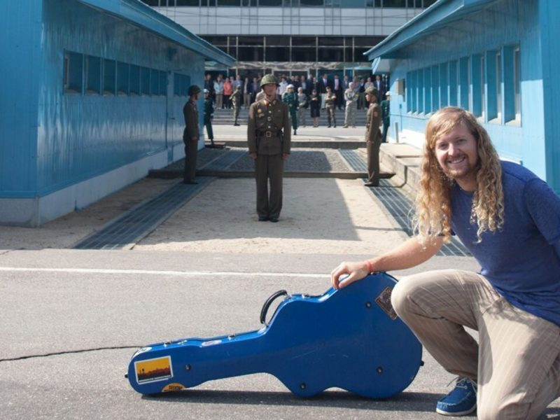 Sean Feucht Wrote Prophetic Lyrics At The Same Spot Where Trump And Jong-un Made History