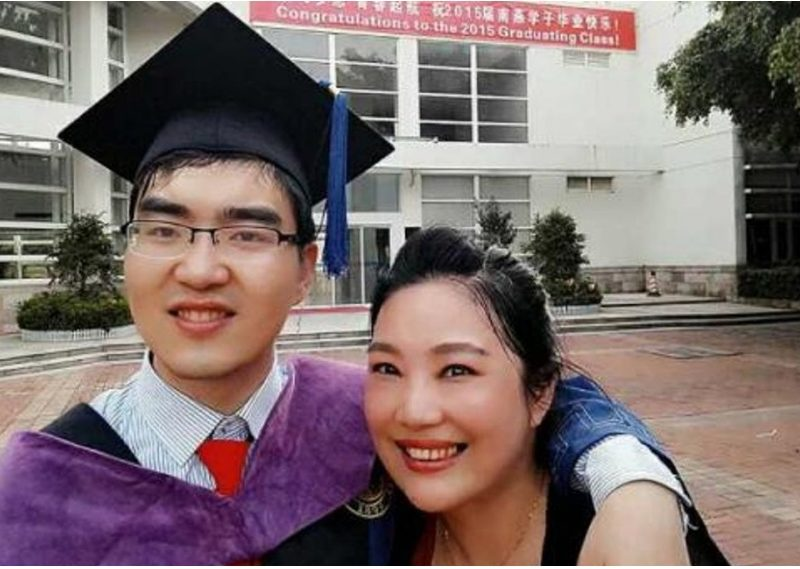 Zou Hongyan, A Chinese Mother Refuses To Give Up Her Disabled Son, Gets Him to Harvard