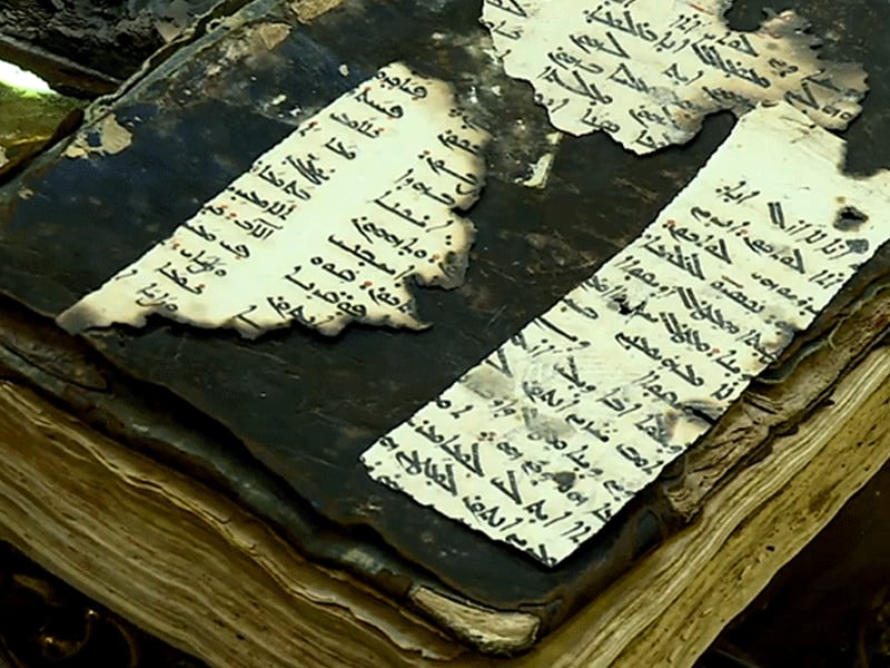 New Kurdish Government Official Swears On A Bible Burnt By ISIS