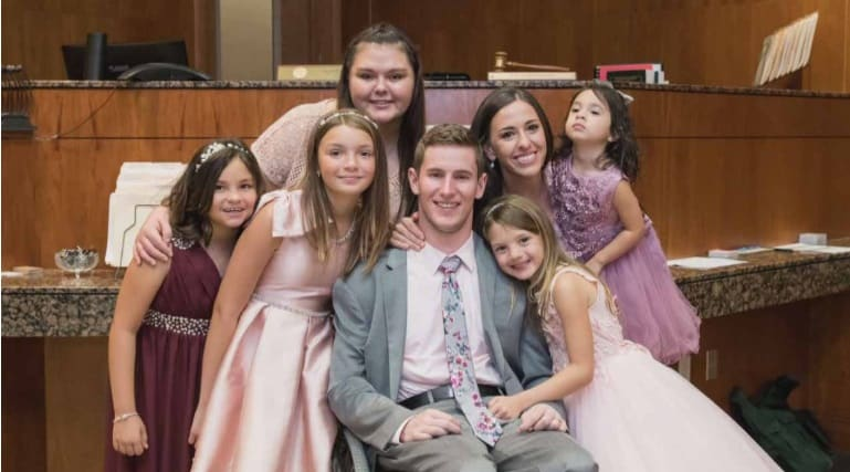 Though Paralyzed From The Neck Down, Chris Norton Beats The Odds In Both Love and Family
