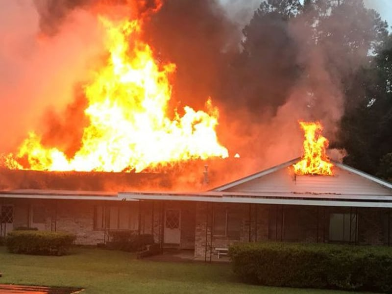 Florida Church Is A 'Complete Loss' After Engulfed Flames