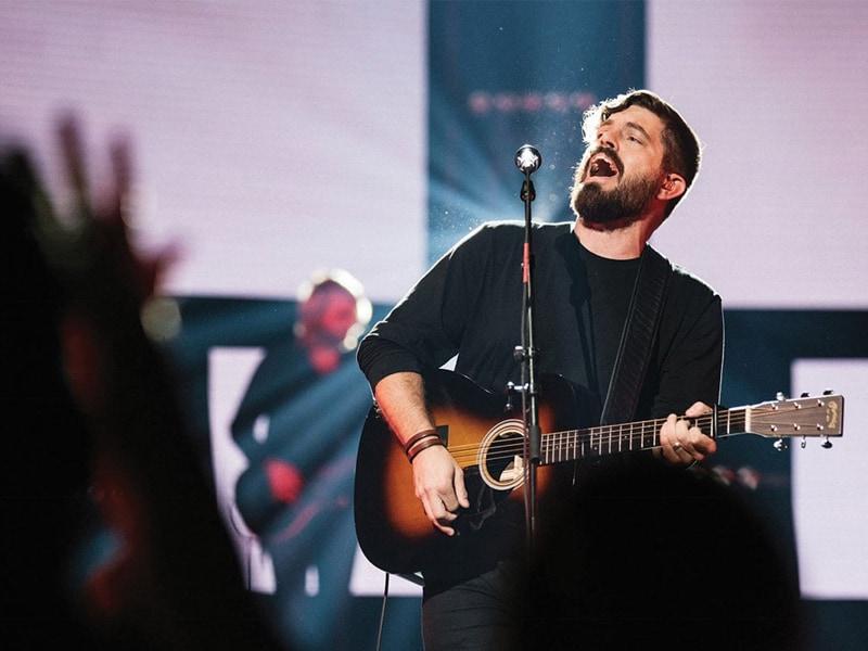 Josh Baldwin Reveals Story Behind Single 'Let The Redeemed'