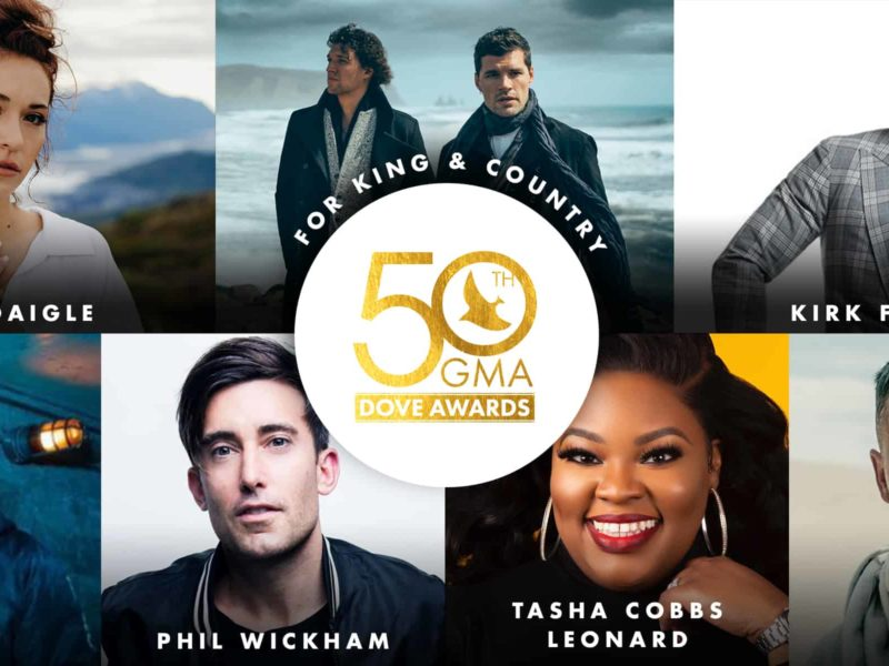 The Dove Awards Announces 2019 Performers & Nominees