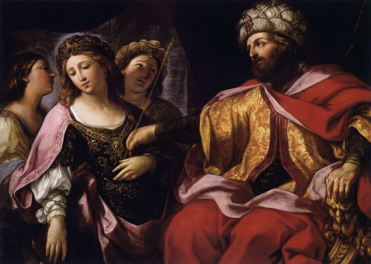 Esther goes before the King
