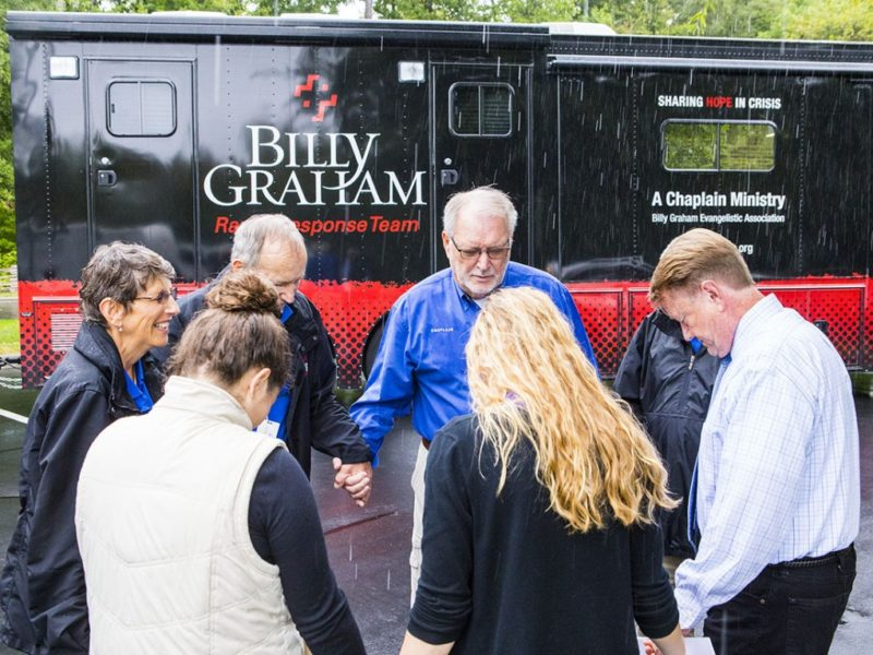 Mass Shootings  – Billy Graham Rapid Response Team Chaplains Head to Texas And Ohio