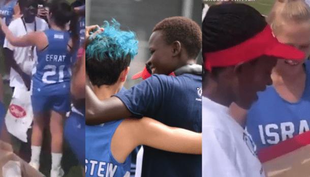 Israeli Lacrosse Team Gifts Cleats to Kenyan Team