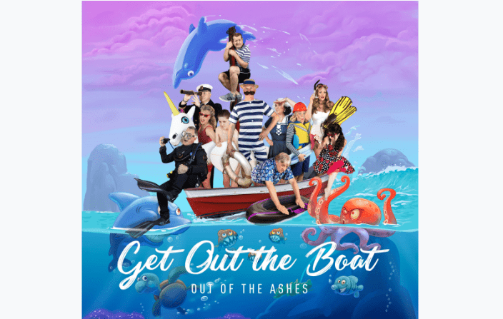 Out Of The Ashes New Music Video: Get Out The Boat