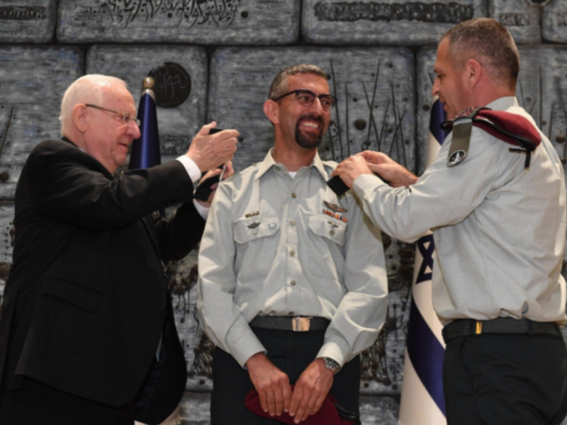 President Rivlin Welcomes New Druze Military Secretary