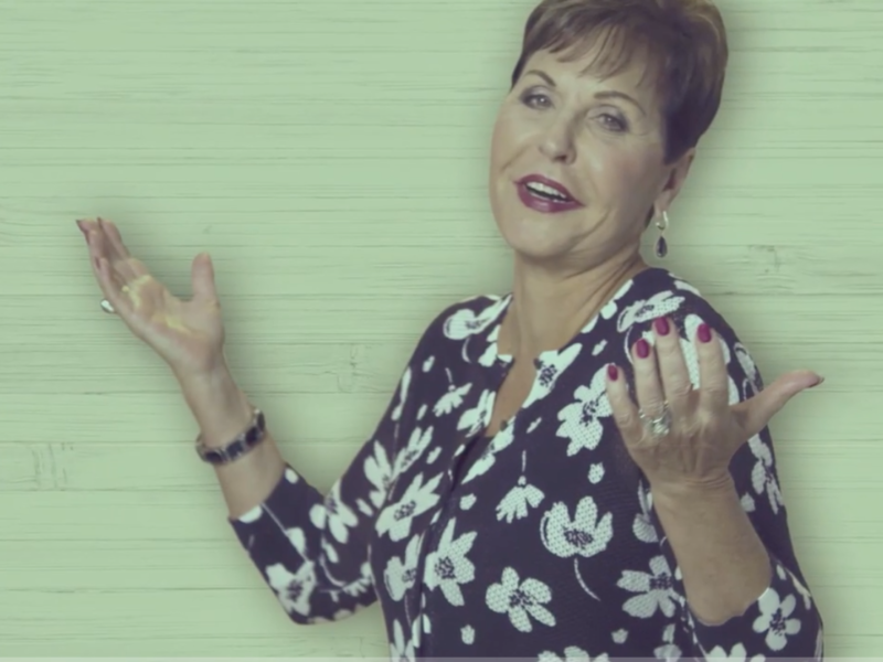 "Joyce Meyer Encourages Believers To ""Do It Afraid"""