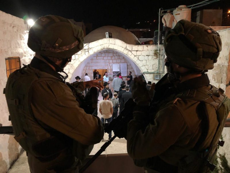 Israelis Visit Joseph's Tomb Under Heavy Security, Palestinians Riot
