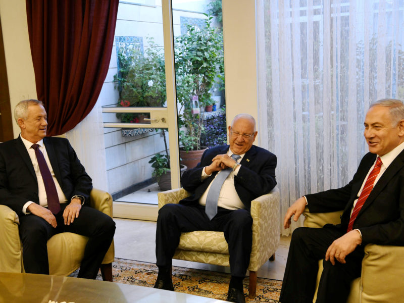 Rivlin Tasks Netanyahu with Forming Government, Again