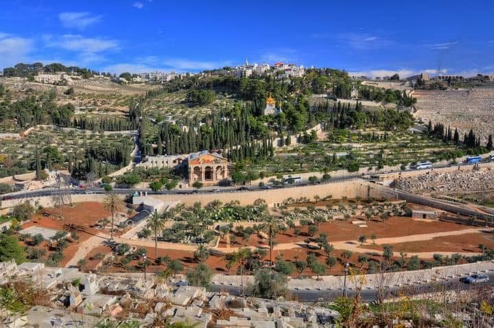 Jerusalem – The Mount of Olives