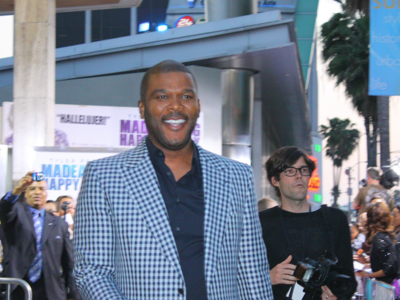 Tyler Perry Uses Private Jet To Help Provide Relief In The Bahamas