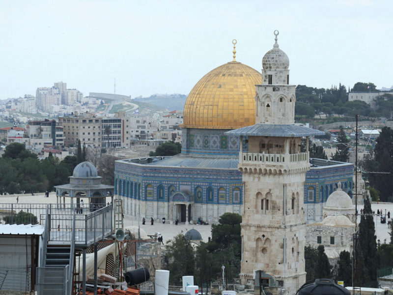 Israel Blocks Exit of 4 Terror Operatives Involved in Temple Mount Riots