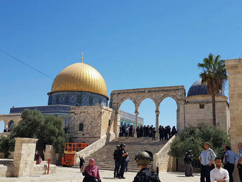 New Record Set for Jewish Visits to Temple Mount During Holidays