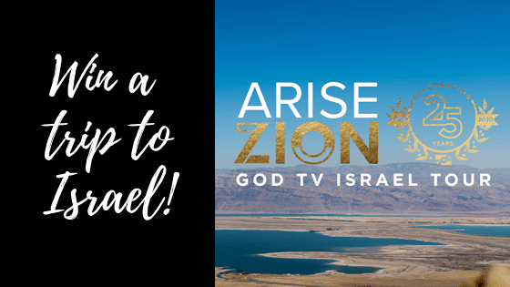 ** LAST CHANCE ** To Enter To Win A FREE Trip To Israel!