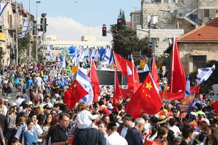 5,000 Christians On Way to Jerusalem to Show Solidarity with Israel