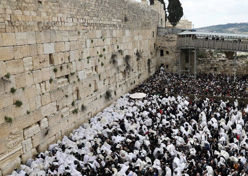 Sharp Surge in Number of Jewish Worshipers at Temple Mount on Yom Kippur