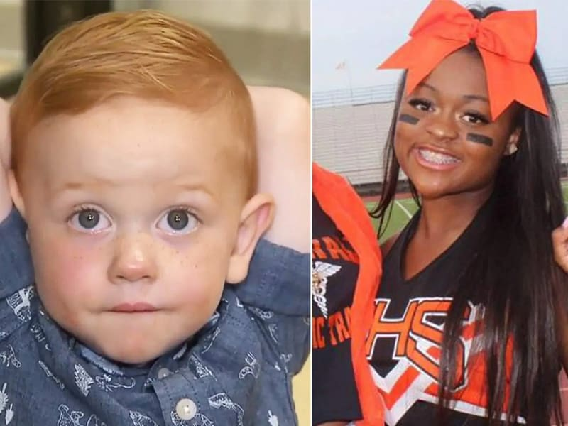 Cheerleader Jumps Off Parade Float To Save Toddler's Life