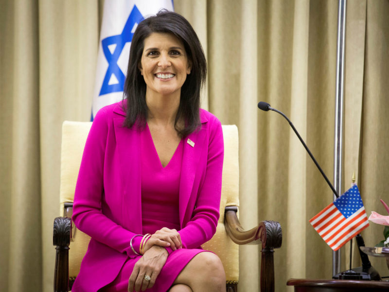 Nikki Haley: 'Israel is Not Going Away – When the World Recognizes That, Peace Becomes Possible'
