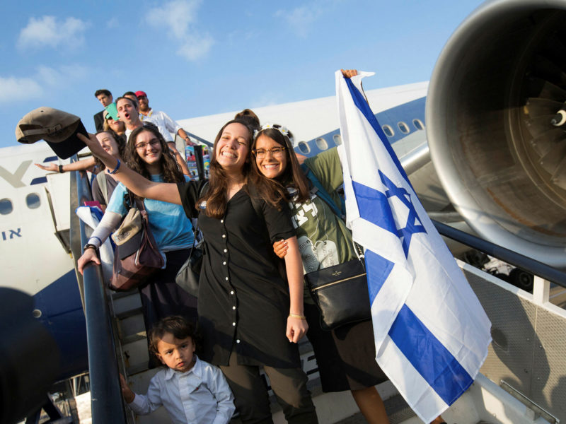 On Aliyah Day, Israel Celebrates 28,000 New Olim in the Past Year