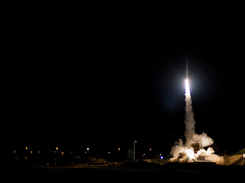 IAF Bombs Hamas Targets in Gaza in Response to Rocket Attack