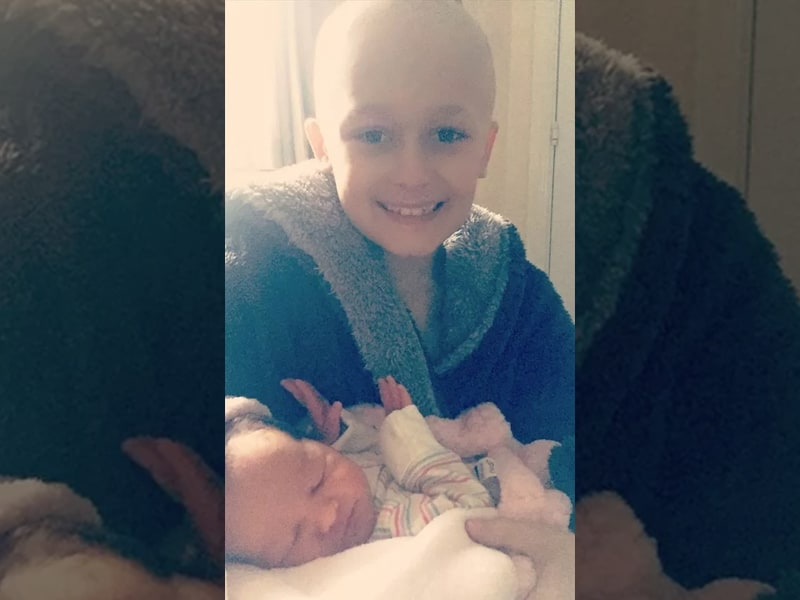 Boy With Cancer Wanted To Live Until The Birth Of His Baby Sister