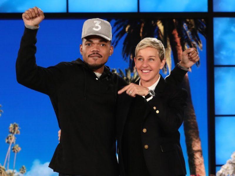 Chance The Rapper Talks About Jesus With Ellen DeGeneres