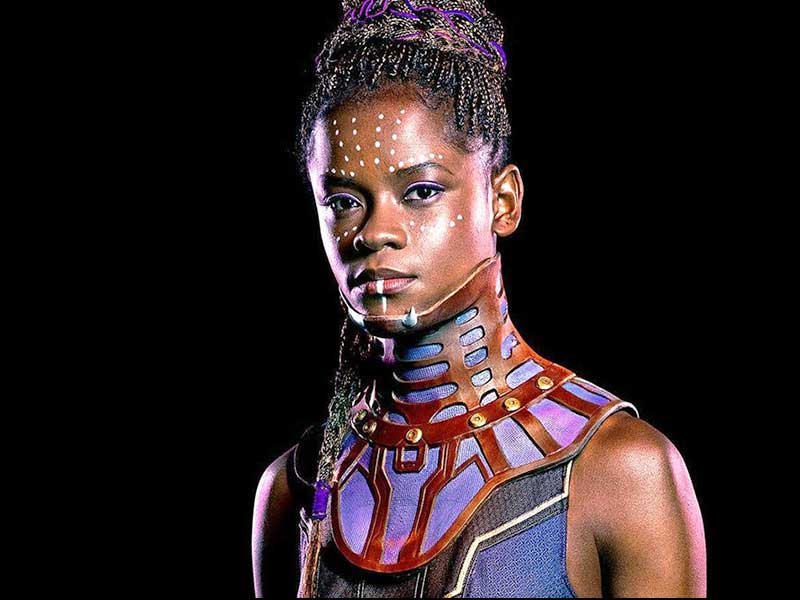 Letitia Wright as Shuri in Black Panther Movie